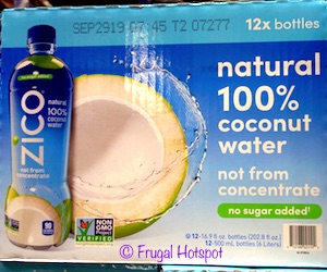 Zico Coconut Water 12/16.9 oz at Costco