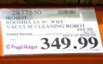 Costco Sale Price: iRobot Roomba E6 Wi-Fi Connected Vacuum Cleaning Robot