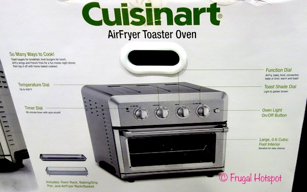 Costco Sale Cuisinart Airfryer Toaster Oven 129 99