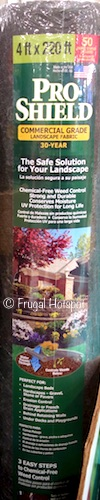 Dalen Pro Shield Landscape Fabric  4' x 220' Costco (Item #9339)
