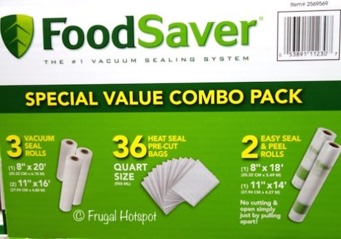 FoodSaver Special Value Combo Pack at Costco