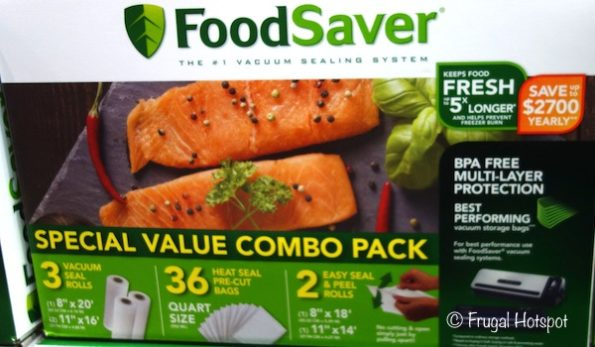 Costco Sale: FoodSaver Special Value Combo Pack $29.99