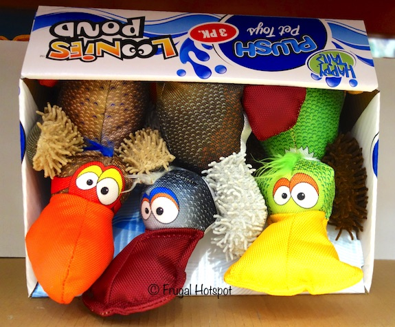 Costco Sale: Happy Tails Loonies Pond Pet Toys 3-Pk $6.99