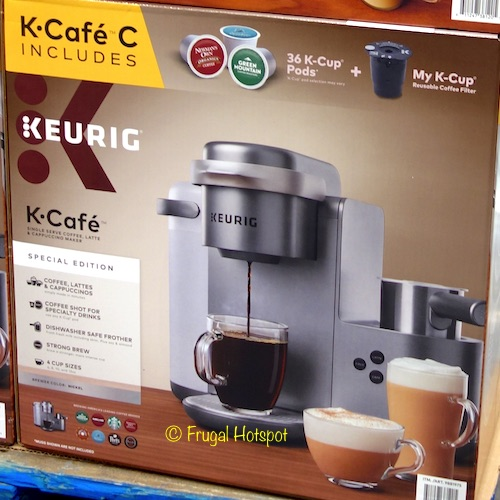 Keurig K-Cafe C Latte, Cappuccino and Coffee Brewer at Costco