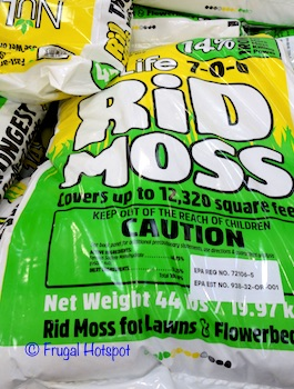 NuLife Rid Moss 44 lbs (Item #122058) at Costco