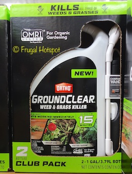 Ortho GroundClear Weed and Grass Killer 2/1 Gallon (Item #1299583) at Costco