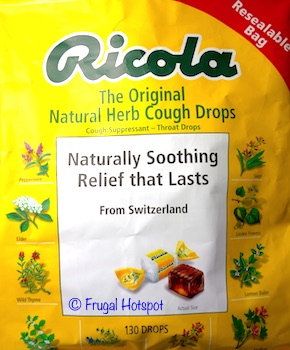 Ricola Original Herb Cough Drops 2/130 count at Costco