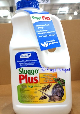 Sluggo Plus Insect, Slug and Snail Bait 5 lbs (Item #1198653) at Costco