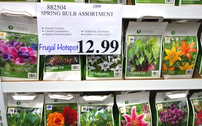 Spring Bulb Assortment  (Item #882504) at Costco
