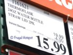 Costco Sale Price: ThermoFlask 24 oz Double Wall Vacuum Insulated Stainless Steel Water Bottle 2-Pack