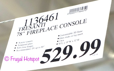 Costco Price: Tresanti 'Sloane' Fireplace TV Console