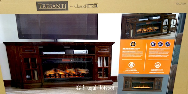 Tresanti 'Sloane' Fireplace TV Console at Costco