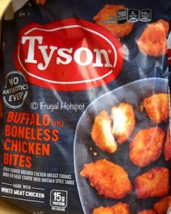 Tyson Foods Buffalo Style Bites 3.25 lbs at Costco