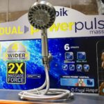 Waterpik Dual Power Pulse Massage Shower Head at Costco