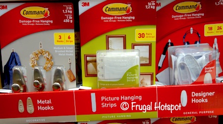 3M Command Hanging Hooks or Strips at Costco