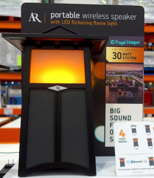 Costco Sale: Acoustic Research Portable Wireless Flame Speaker $79.99