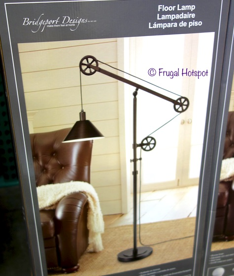 Bridgeport Designs Pulley Floor Lamp at Costco