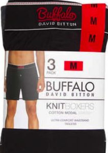 Buffalo David Bitton Men's Knit Boxer 3-Pack at Costco