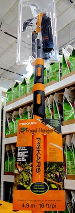 Fiskars 16 Ft Pole Steel Pruner at Costco