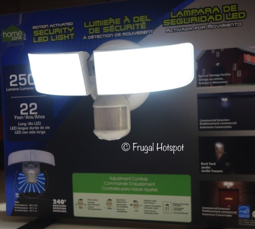 Costco Sale: Home Zone Motion Activated Security LED Light  $29.99
