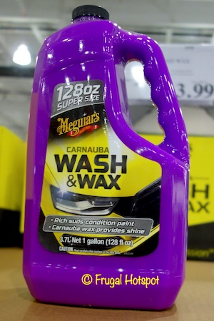 Meguiar's Wash & Wax 128 fl oz | Costco | Frugal Hotspot