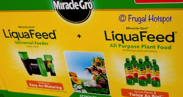 Miracle Gro LiquaFeed Feeder + 5:16 fl oz Refills at Costco