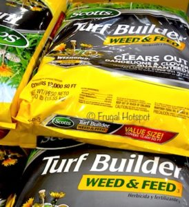 Scotts Turf Builder Weed & Feed (Item #468911) at Costco