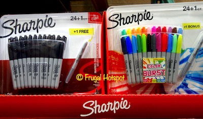 Sharpie Permanent Marker 25-ct at Costco