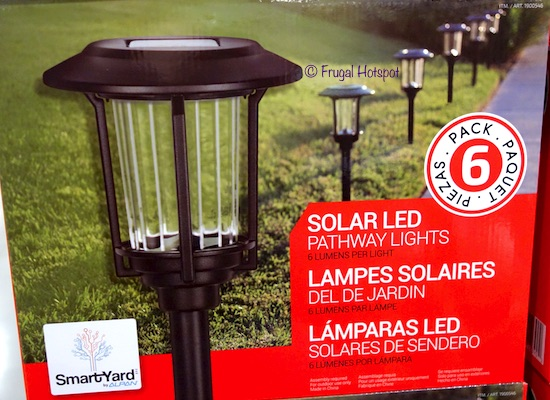 Costco Sale: SmartYard Small LED Pathway Lights 6-Pack $24.99