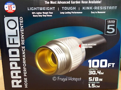 Teknor 100 ft Rapid Flo Compact Garden Hose (Item #4008100) at Costco