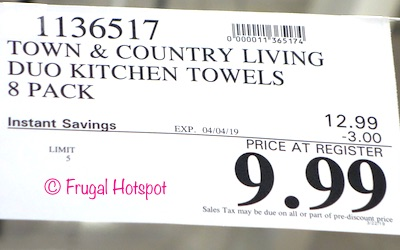 Costco Sale Price: Town & Country Living Bistro Kitchen Towels