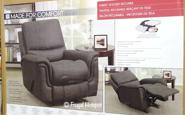 True Innovations Mason Fabric Rocker Recliner at Costco