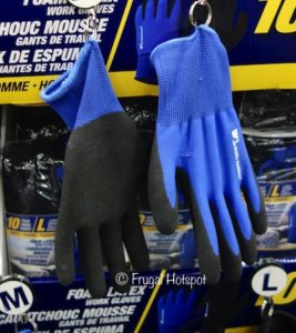 Wells Lamont Foam latex Work Gloves 10-Pairs at Costco