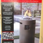 Bond Outdoor Gas Fire Column at Costco