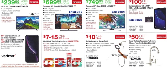 Costco Coupon Book- APRIL 17, 2019 - MAY 12, 2019. Page 10