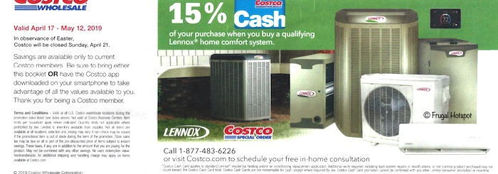 Costco Coupon Book- APRIL 17, 2019 - MAY 12, 2019. Page 2