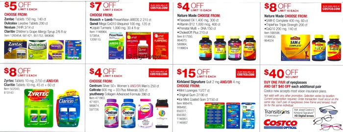 Costco Coupon Book- APRIL 17, 2019 - MAY 12, 2019. Page 21