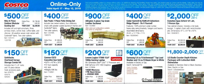 Costco Coupon Book- APRIL 17, 2019 - MAY 12, 2019. Page26