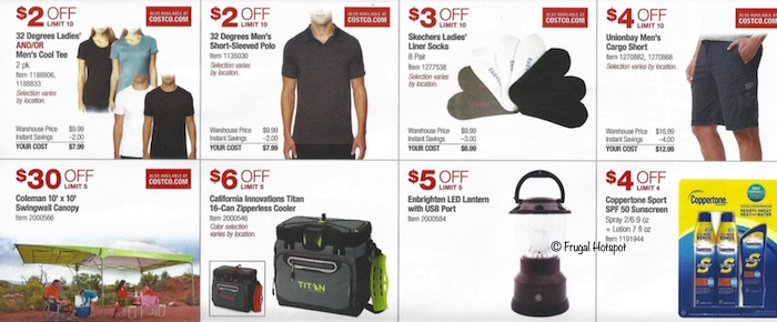 Costco Coupon Book- APRIL 17, 2019 - MAY 12, 2019. Page8
