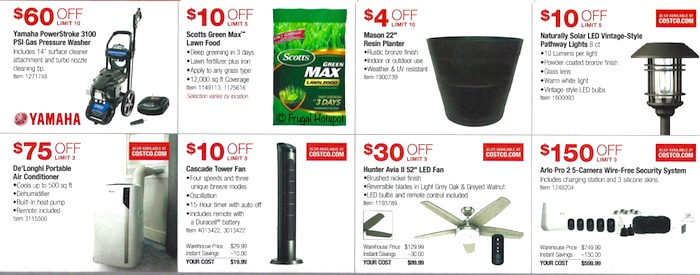 Costco Coupon Book- APRIL 17, 2019 - MAY 12, 2019. Page9
