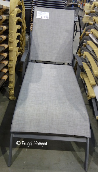 Kirkland Signature Commercial Sling Chaise Lounge at Costco