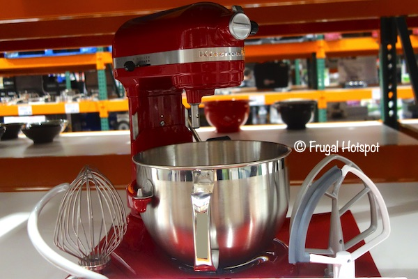 KitchenAid Professional 6-Quart Bowl Lift Mixer Red | Costco | Frugal Hotspot