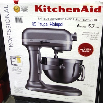 KitchenAid Professional 6-Quart Bowl Lift Mixer Gray at Costco