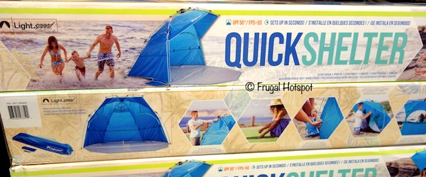 Lightspeed Outdoor Quick Shelter at Costco