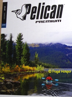 Pelican Mission 100 Sit-in Kayak with Poseidon Paddle Costco