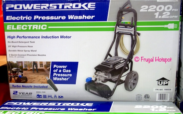 PowerStroke 2200 PSI Electric Pressure Washer at Costco