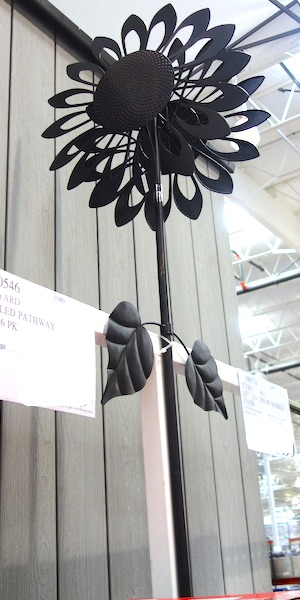 Southern Patio Sunflower Wind Spinner at Costco