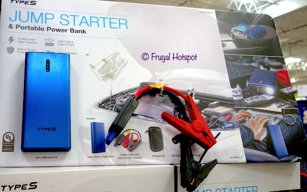 Type S Jump Starter & Portable Power Bank at Costco