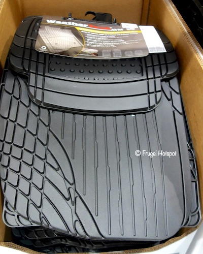 WeatherTech 4-Piece Trim-to-Fit Car Mat at Costco