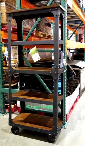 """Bayside Furnishings 72"""" Ladder Bookcase by Whalen at Costco"""